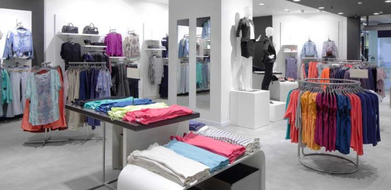 Clothes display ideas for retail stores