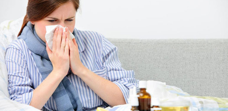 Home remedies for treating a cold