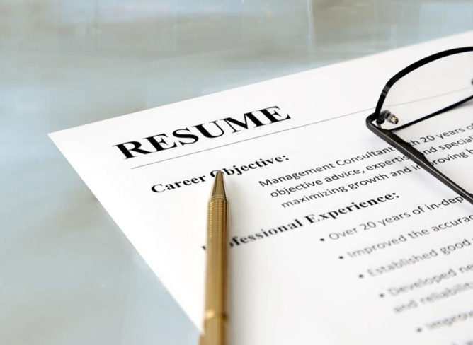 How to write a medical resume