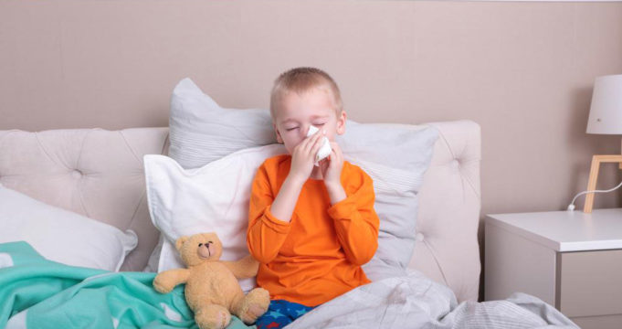 Allergy triggers and antihistamines for children