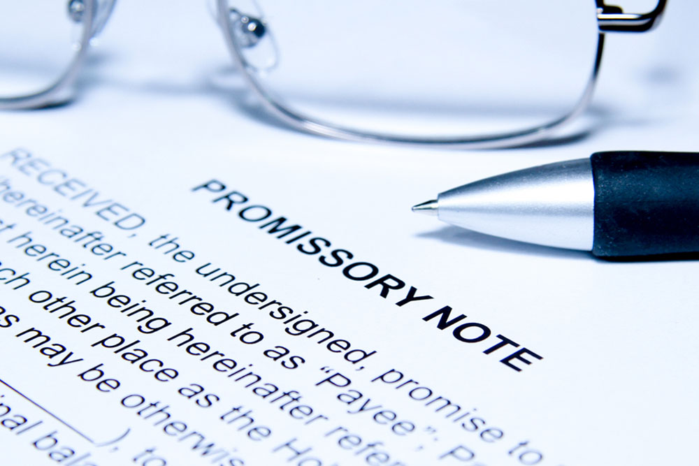 What Should Be Included In A Promissory Note