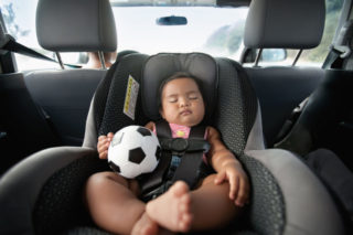 Tips for baby-proofing your car