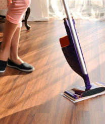 3 steps to note when cleaning wooden flooring
