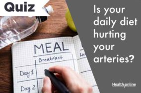 Is your daily diet hurting your arteries?