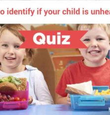 How to identify if your child is unhealthy?