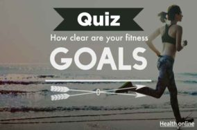 How clear are your fitness goals?