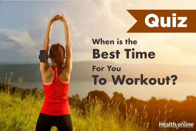 When is The Best Time For You To Workout?