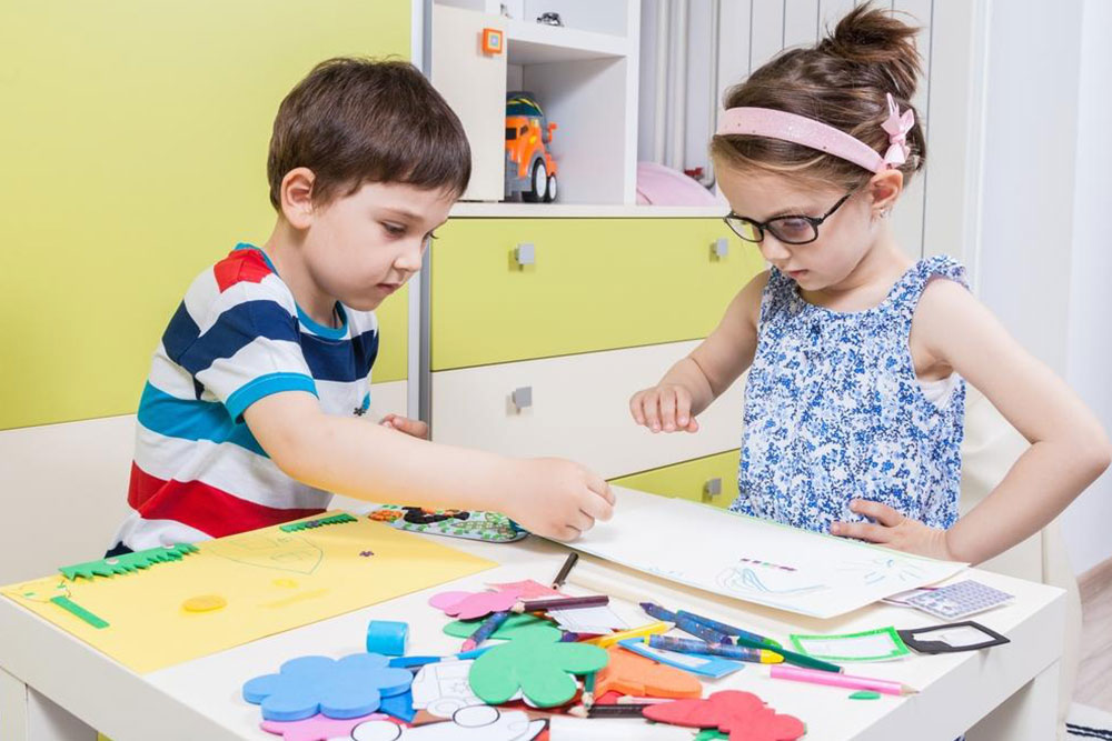Arts and crafts – An inspiring children's activity