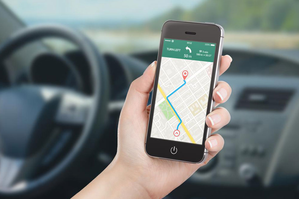 How is GPS helpful in tracking a phone