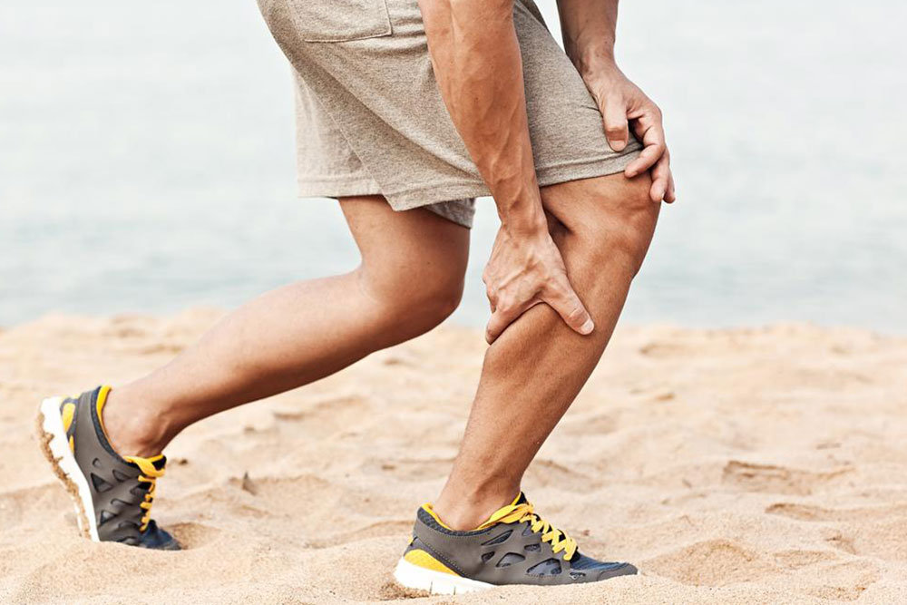 Steps to ensure minimum complications due to a muscle pull injury