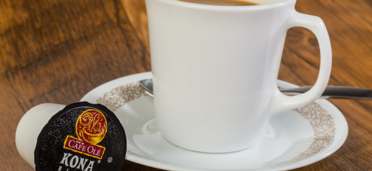 Have a Cup of Hot Brewing Coffee with a Keurig K Cup