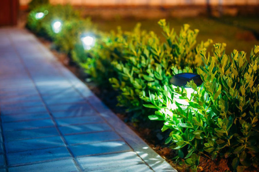 Light fixtures for your garden