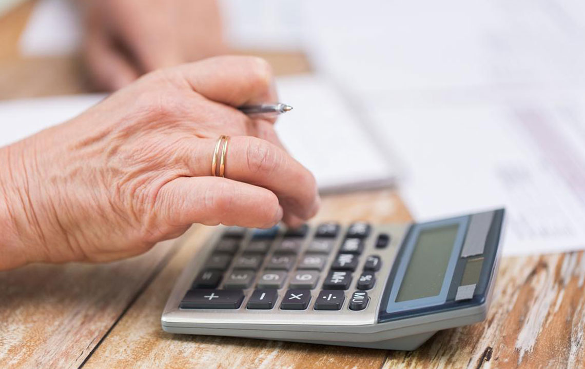 Pension annuity calculation explained