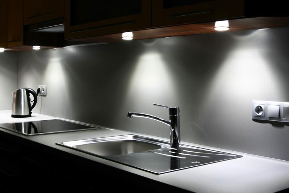 Three popular types of kitchen lamps