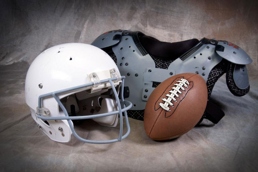 Top American football equipment providers