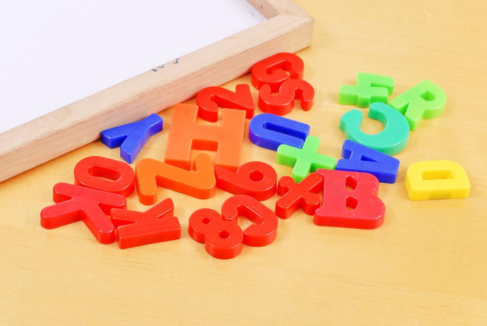 babysitting alphanumerical magnets