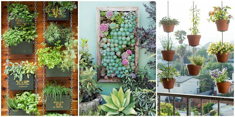 vertical flower garden ideas at small home