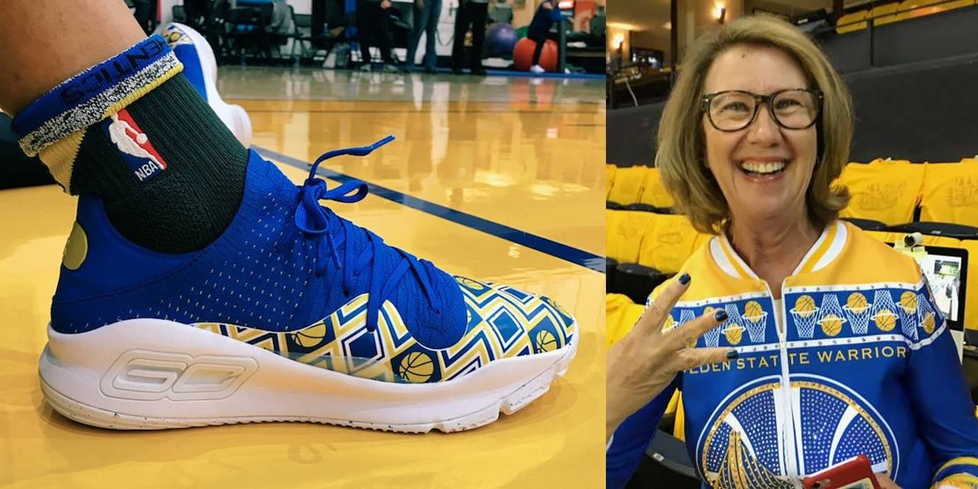 Under Armour Curry 4 Dance Mom