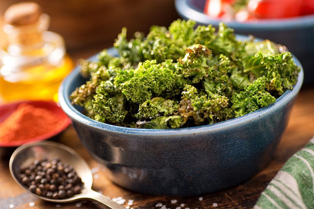 healthy snacks kale