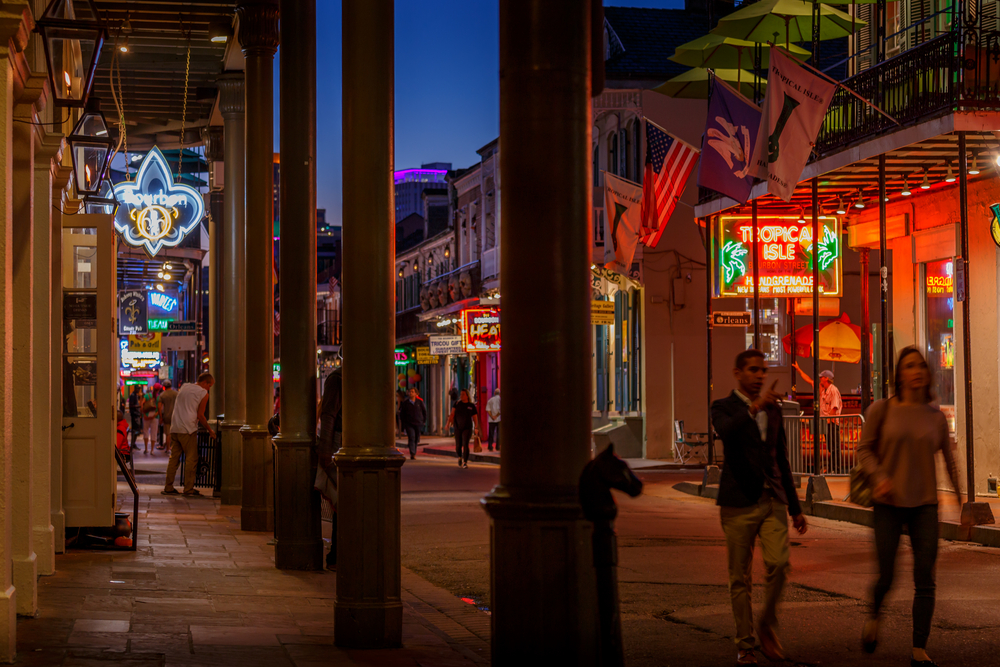 night party in New Orleans