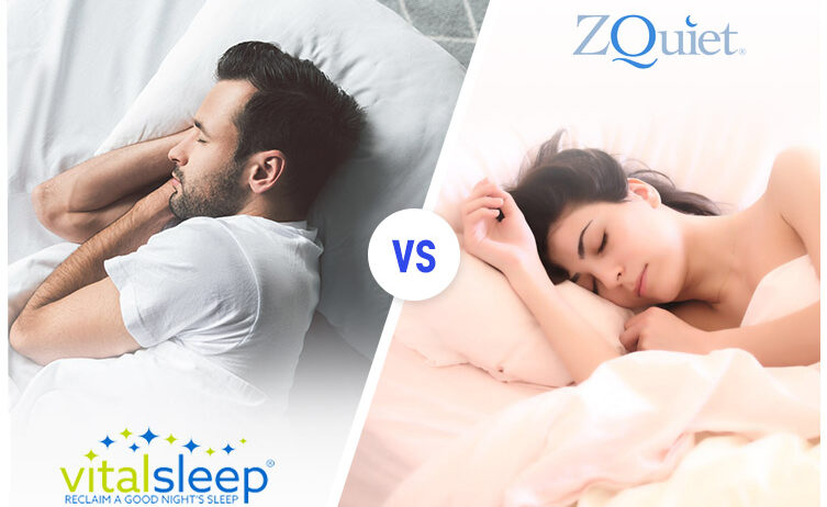 Vitalsleep vs Zquiet anti-snoring mouthpiece